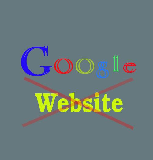 Website โดน Google แบน